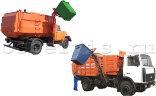 Контейнер для мусора 0,75 м3 металл 1,5 мм с крышкой
