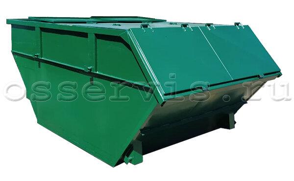 Мусорный контейнер 8 м3 с крышкой