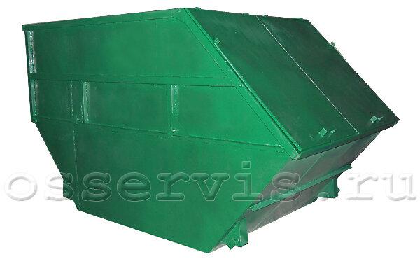 Контейнер для мусора 10 м3 с крышкой